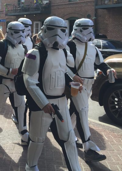 Stormtroopers in New Orleans