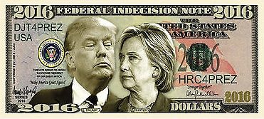 Trump-Hillary-Currency